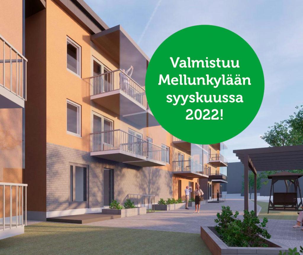 Uusi senioritalo - Mellunkylä, Helsinki